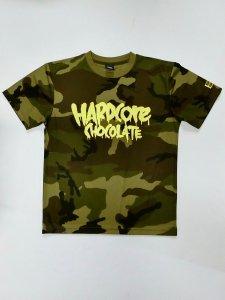 フルメルティッドロゴ ドライTシャツ(ウッドカモフラ)