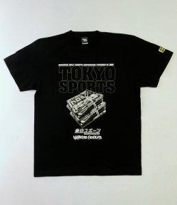 東京スポーツ×HARDCC(プロレスリング・ブラック)