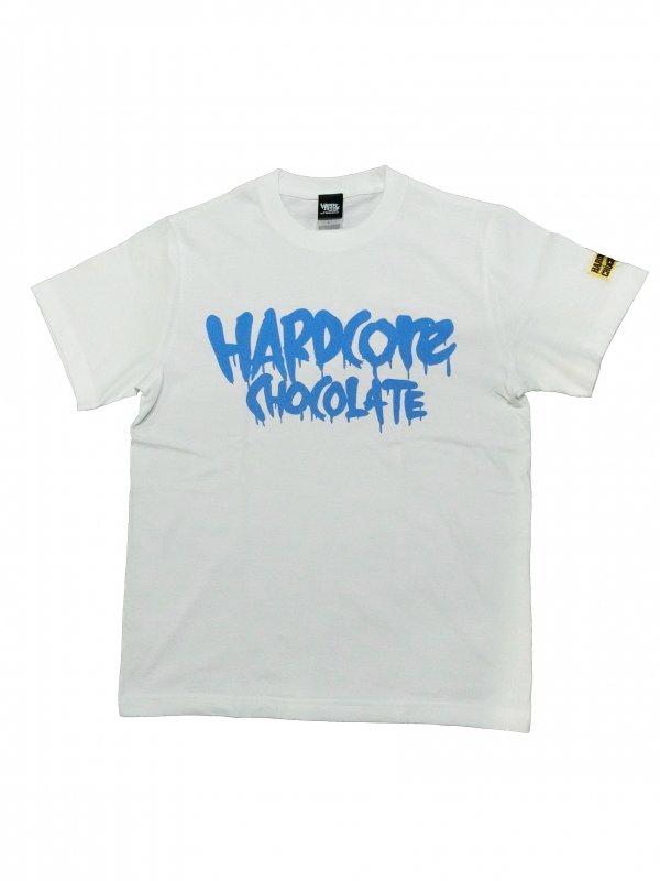 フルメルティッドハードコアチョコレート ベーシックロゴTシャツ(バージン・ブルー)