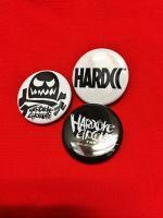 HARDCC×コアチョコ×コアチョコスカル缶バッジセット