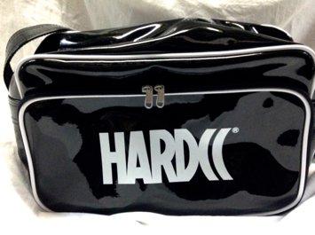 HARDCCエナメルショルダーバッグ(漆黒ブラック)