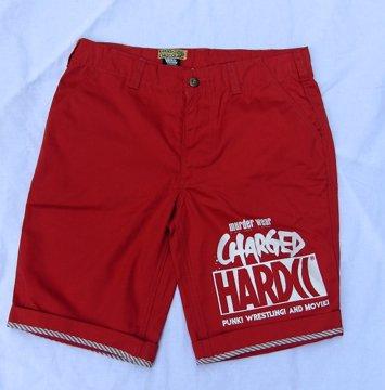 HARDCCハーフパンツ-2014コンクリートBOYS-(CHARGEDデビルレッド)