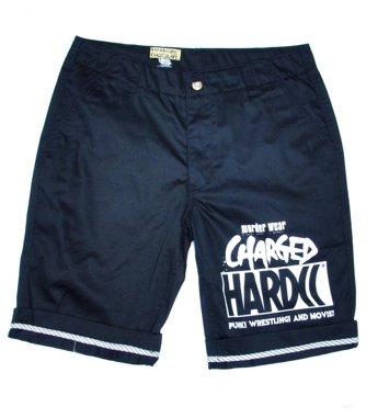 HARDCCハーフパンツ-2014コンクリートBOYS-(CHARGEDミストブルー)