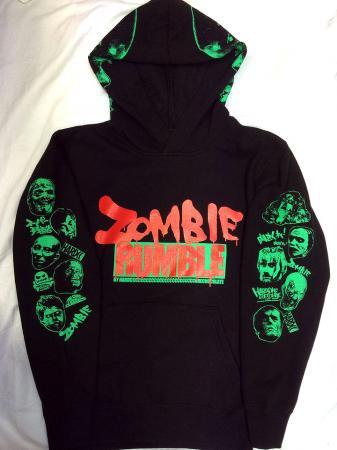 ZOMBIE RUMBLE(プルオーバーパーカ)
