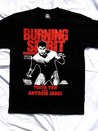 BURNING SPIRIT IN AMERICA(アントニオ猪木)闘魂レッド