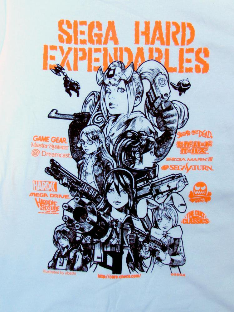 SEGA Hard Girls: Expendables HardCC T-Shirt by Abeshi