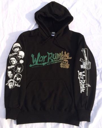 WAR RUMBLE(プルオーバー北爆パーカー)-NAM'15薄手ナパーム仕様-