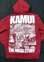 カムイ伝 ZIPパーカー- KAMUI THE NINJA STORY EDITION (憑移しバーガンディ)