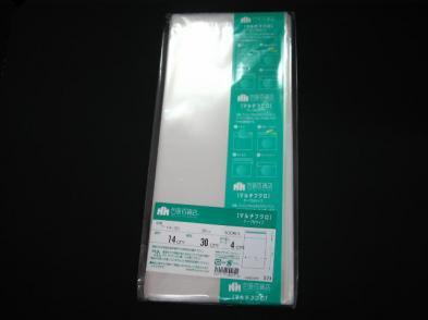 OPP袋テープ付 T-14×30(100枚)