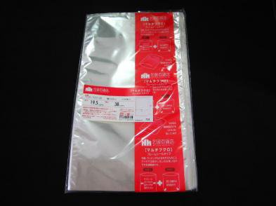 OPP袋フレームシール F25-19.5-38 100枚