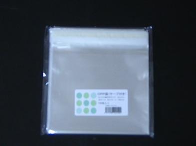特価CD縦型サイズ(T-15.5-13)サイズOPP袋テープ付 100枚/パック