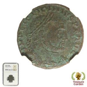 [古代ローマコイン リキニウス帝 銅貨] ジュピター 【NGC鑑定 XF】 no.2