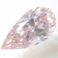 ピンクダイヤ Fancy Light Pink 0.305ct 大粒・貴重なタイプⅡa!