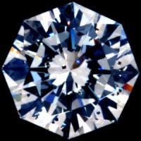 天然ダイヤモンド J 0.542ct ハッピーエイトカット