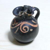 古代ギリシャ アプリア式陶器オイノコエ 400BC! アンティーク販売
