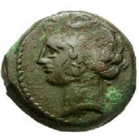 古代 カルタゴ 銅貨 BC300-264 貴重品!! 古代コイン/販売