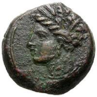 古代 カルタゴ 銅貨 BC400-300 貴重品!! 古代コイン/販売