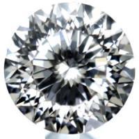 天然ダイヤモンド F 0.285ct 114面カット