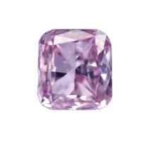 天然ピンクダイヤモンド Fancy Purplish Pink 0.111ct ファンシーピンクダイア