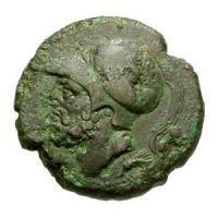 古代ブルティウム 戦いの神アレス BC282-203 ギリシャコイン