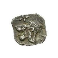 古代ギリシャ Mysia Kyzikos銀貨 レア BC525-475 古代コイン/販売