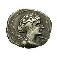 古代マッシリア アルテミス ドラクマ銀貨 BC100-49 古代コイン/販売