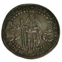 [ドイツ 1613年 チュートン騎士団 1ターラー銀貨] マクシミリアン 大型銀貨 ドイツ騎士団 アンティークコイン…