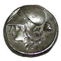 古代ギリシャ コリント式ヘルメット 女神アテナ ステーター銀貨/ペガサス/コイン 古代コイン/販売