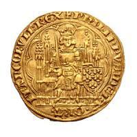 中世フランス フィリップ6世 エキュ金貨 1337-1350年 アンティークコイン販売