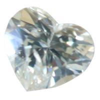 天然ダイヤモンド Lカラー 0.270ct ハートカット