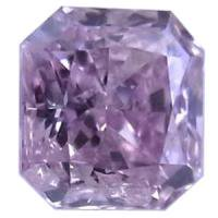 パープルダイヤモンド Fancy Pinkish Purple 0.167ct ピンクダイヤ 天然カラーダイヤモンド