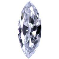 ブルーダイヤモンド Light Blue 0.106ct VS1/高品質/マーキスカット/AGT 天然カラーダイヤモンド