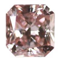 ピンクダイヤモンド Fancy Intense Pink 0.163ct 大きめ!!