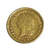 [コロンビア 1871年 2ペソ金貨] /アンティークコイン販売