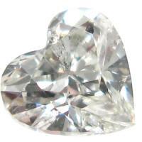 天然ダイヤモンド Jカラー 0.16ct ハートカット!