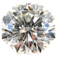 天然ダイヤモンド Kカラー 0.3ct レアカット!オクタゴナルカット
