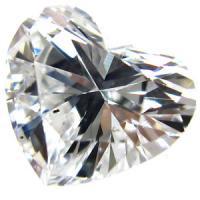 天然ダイヤモンド 最高Dカラー 0.48ct 大粒ハートカット