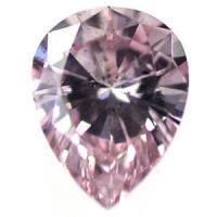 ピンクダイヤモンド Fancy Intense Pink 0.158ct SI2 アーガイル鉱山産/ペアシェイプ/販売