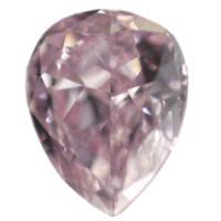ピンクダイヤモンド Fancy Purplish Pink 0.120ct VSクラス!