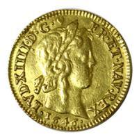 フランス 1646年 ルイ14世 金貨 レア!! アンティークコイン販売