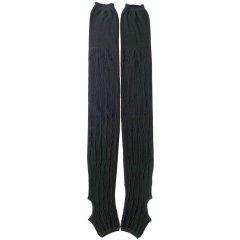 たてmocoトレンカ (黒黒)*シルク素材