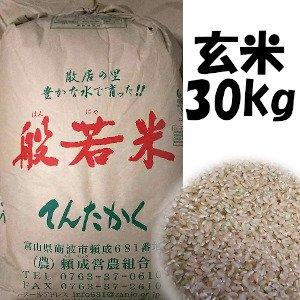 平成29年産米  てんたかく玄米  30kg