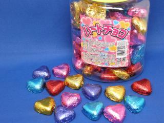 ハートチョコ(100個入り)単品参考上代10円