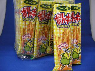 ポリッキー コーン味(24個入り)単品参考上代10円