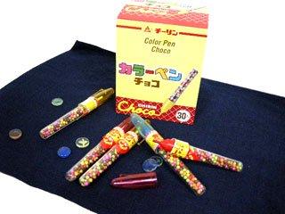 カラーペンチョコ(30本入り)単品参考上代30円