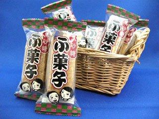 黒砂糖ふ菓子 やおきん(30袋入り)単品参考上代12円