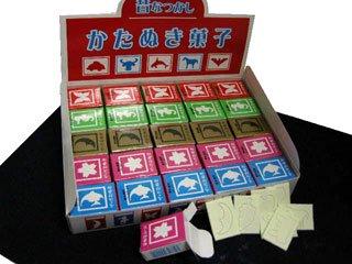 昔なつかし かたぬき菓子 ザ☆かたぬき(7枚×50個入り)単品参考上代120円
