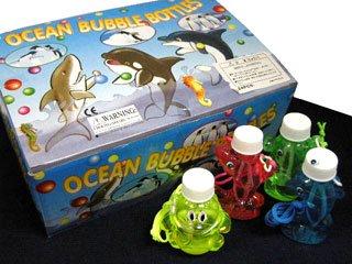 シャボン玉 OCEAN BUBBLE BOTTLES(24個入り)単品参考上代50円
