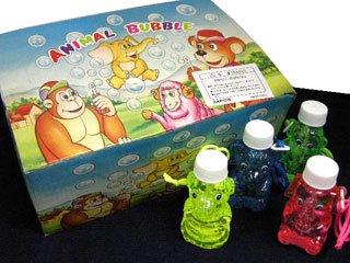 シャボン玉 ANIMAL BUBBLE(24個入り)単品参考上代50円