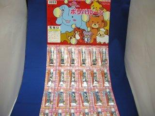 ポリバルーンふうせん 台紙(24個入り)単品参考上代30円